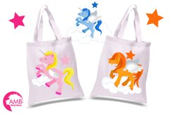 Magical Unicorns clipart, graphics and illustrations AMB-160 Product Image 2
