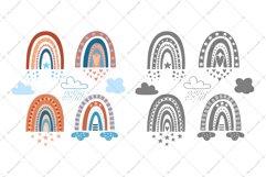 Bohemian Rainbow | SVG Cut Files Product Image 2