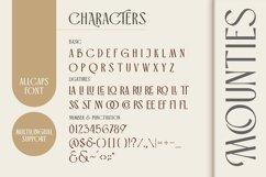 MOUNTIES - Display font Product Image 3
