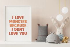 Monster Funny - Cute Display Font Product Image 4