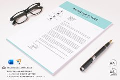 Modern Resume Template and Cover Letter. Fully editable CV Product Image 13