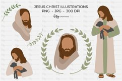 Jesus Christ Illustrations - Clipart in PNG and JPG Product Image 1
