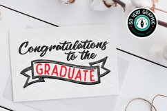 Congratulations to the Graduate SVG Cut File Product Image 1