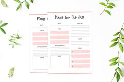 Colorful Daily Planner Printable Product Image 3