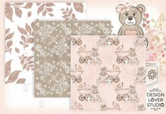 Baby Girl digital paper pack 2 Product Image 5