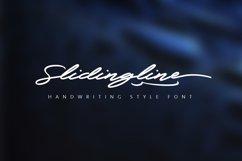 Slidingline Script Typeface Product Image 1