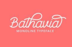 Bathavia Script Product Image 1