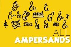Catchwords & Ampersands - A Dingbat Font Product Image 3