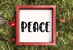 Peace Cut file - SVG & PNG Product Image 2
