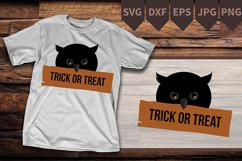 SVG Owl, Owl Silhouette SVG, Silhouette Owl, Halloween Product Image 2