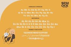 Semock - Playful Display Font Product Image 2