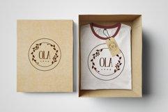 Minimalistic logo set. Logo templates. Schedule. Product Image 7