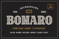 10 Font - Bonaro Font Family Product Image 1