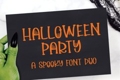 Halloween Party - A Spooky Font Duo Product Image 1