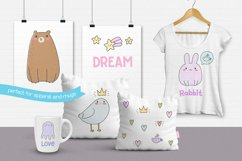 Cute Creatures Vector Set Product Image 5