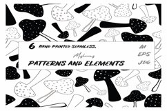 Mushrooms Patterns Product Image 1