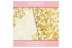 Gold Foil Digital Paper Gold Foil Digital Pack Gold Foil Product Image 4