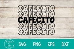 Cafecito Stacked- SVG Product Image 2