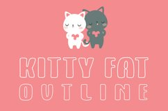 Kitty Fat - Outline Product Image 1