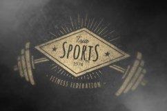 Retro Gym | Logo Templates Product Image 4