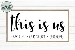 This Is Us SVG and Printable Farmhouse Design Product Image 1