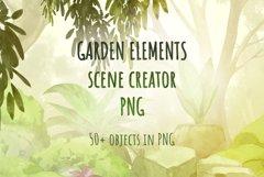 Garden scene creator PNG Product Image 2