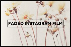 Faded Instagram Film Template Product Image 1
