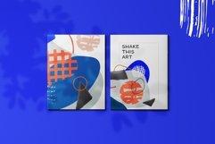 Shake this art! Collage pattern set. Product Image 4