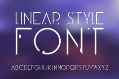 Futuristic OTF font. Uppercase only! Product Image 1