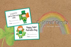 DIY Cards St. Patrick Special Coloring Educational Product Image 3
