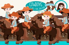 Cowboys vector, svg, png Product Image 4