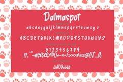Dalmaspot Dalmatian Spot Typeface Product Image 3