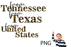 Sublimation, Png, the States of the USA 5 Product Image 3