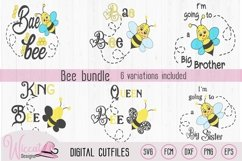 Bee bundle, Queen bee, sister, brother, baby , king, Product Image 1