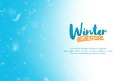 Winter Dream Trio Font Product Image 2