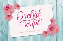 Orchid Script Product Image 1