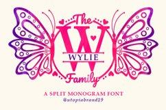 A Split Monogram Font Product Image 1