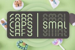 Mint Round - Stacked - Mirrored Font Product Image 2