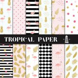 Tropical Backgrounds Product Image 1
