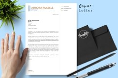Legal Resume CV Template for Word & Pages Aurora Russell Product Image 5