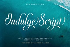 Indulge Script Product Image 1