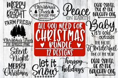 All You Need For Christmas Bundle - 12 Designs Product Image 1