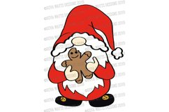 Farmhouse Holiday Gnome Collection SVG DXF & Clipart Set Product Image 3