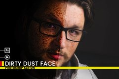 Dirty Dust Face Photoshop Actions Product Image 6