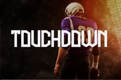 Football Attack Sport Font Product Image 6