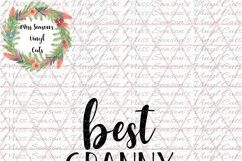 Best Granny Ever SVG Product Image 2