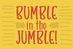 Bumbleberry - a silly serif font Product Image 2