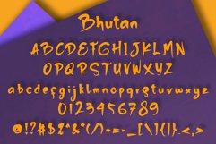 Bhutan | Display Font Product Image 5