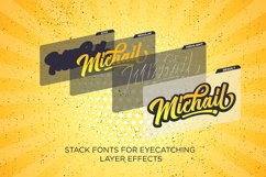Michail Script - Layered Fonts Product Image 2