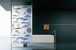 Watercolor sea animals & bonus! Product Image 4